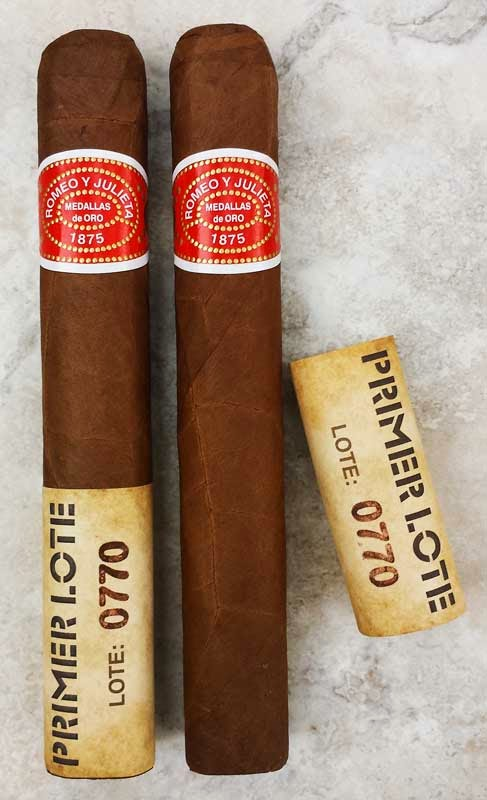Romeo Y Julieta Primer Lote 0770 Toro Cigar