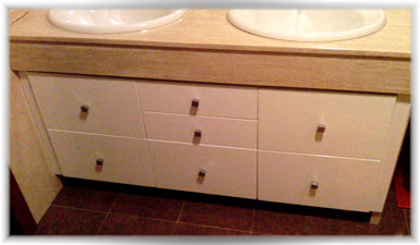 Como hacer tus muebles pr ximo proyecto mueble para el cuarto de ba o - Como hacer mueble para bano ...