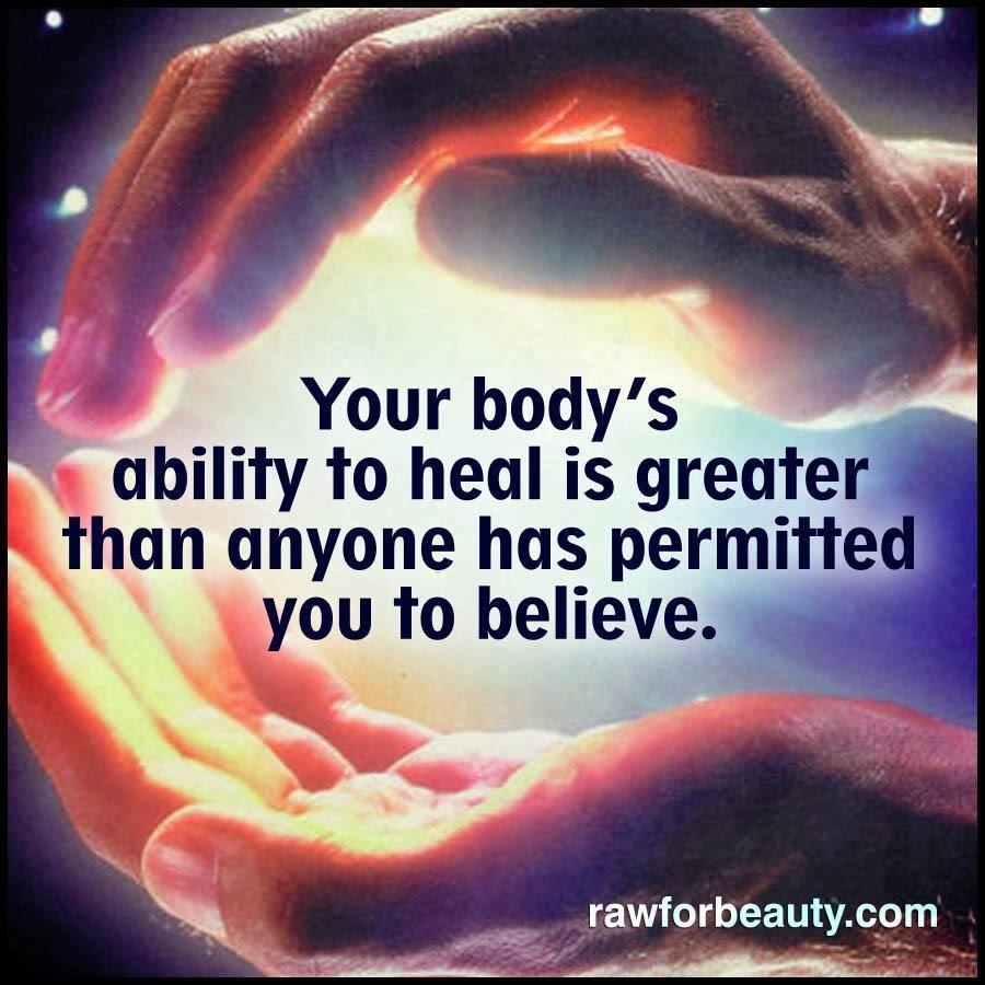 Ability To Heal is Greater Than You Think