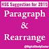 HSC Suggestion for 2015   English 1st Paper   Paragraph & Rearrange   Jessore Board