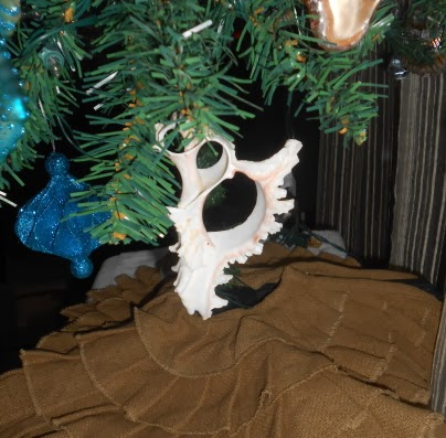 Passionate About Crafting Diy Seashell Christmas Tree Ornament