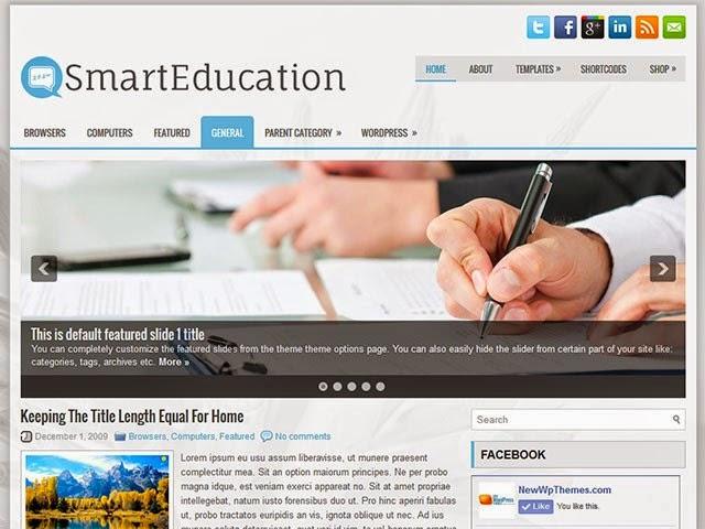 SmartEducation - Free Wordpress Theme