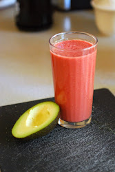Raspberry Avocado Smoothie Recipe