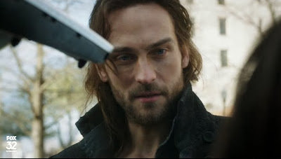 Sexy Ichabod Crane Tom Sleepy Hollow soulful eyes