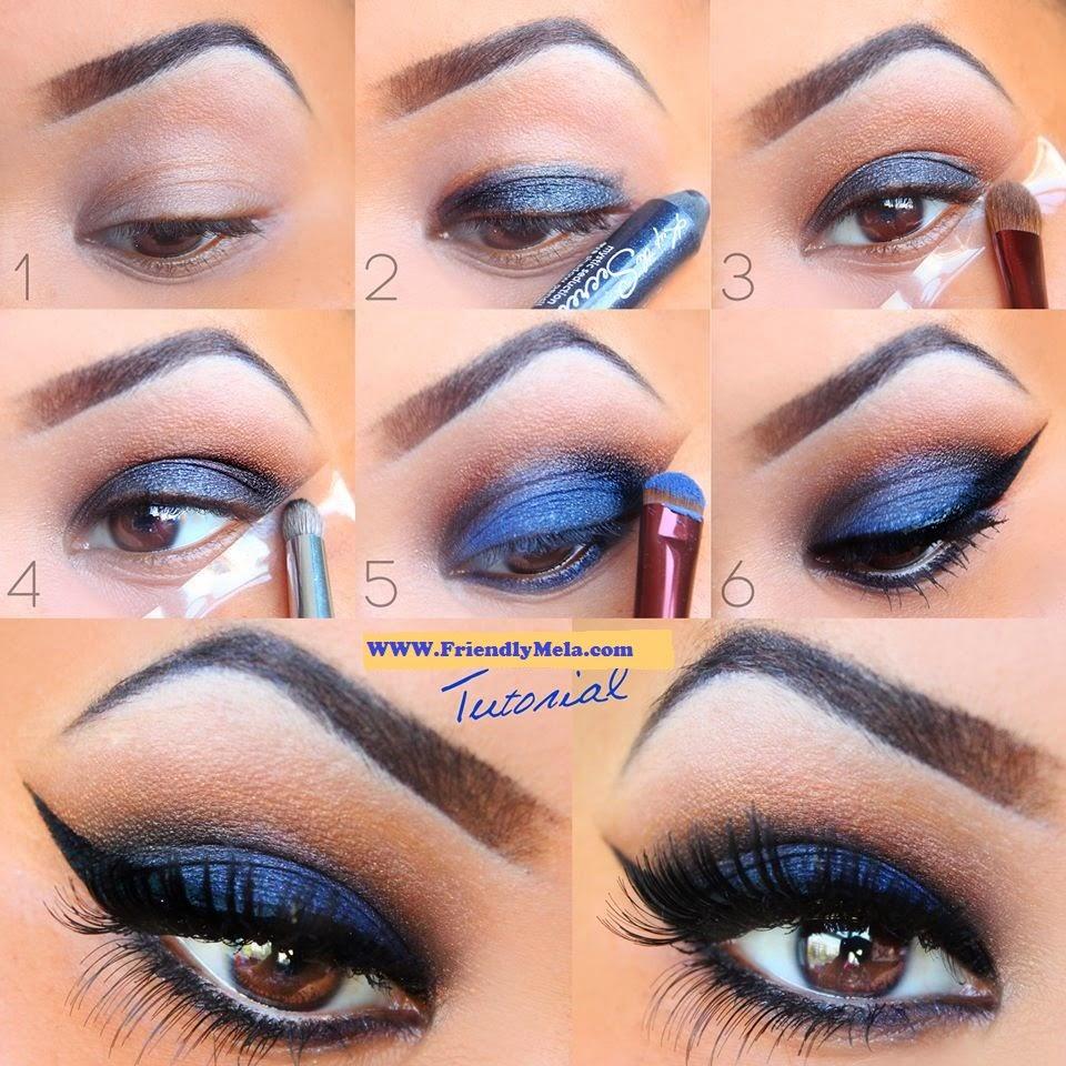 Dark blue eye makeup tutorial best party makeup of eyes b g have a look at dark blue eye makeup tutorial best party makeup of eyes baditri Gallery