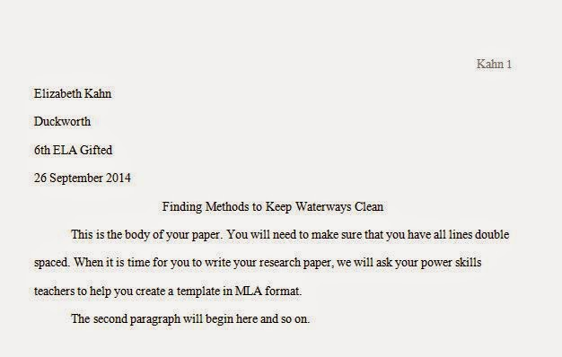 how to make it mla format on word