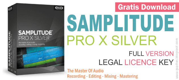 Download Magix Samplitude Pro X Silver Full
