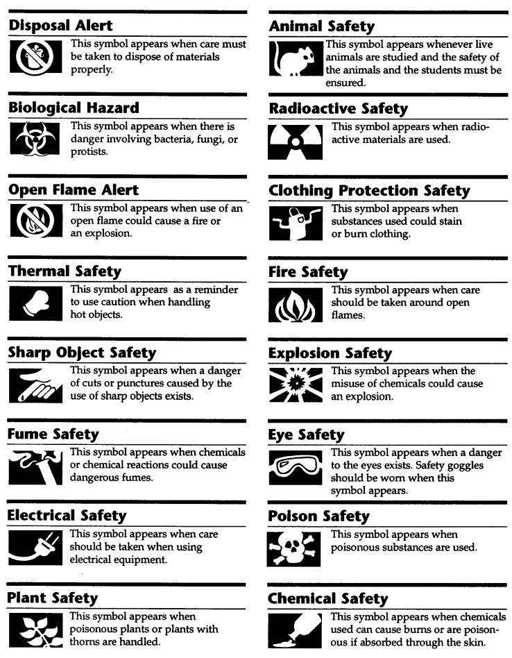 Printables Science Safety Symbols Worksheet safety in the science lab marshscience7 marshscience7
