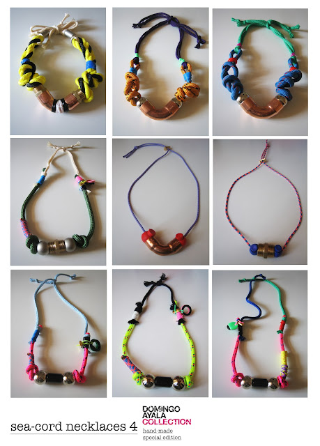 SEA-CORD NECKLACES Domingo Ayala Handmade