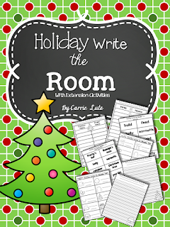https://www.teacherspayteachers.com/Product/Holiday-Write-the-Room-With-Extension-Activities-CommonProper-NounsVerbs-1575325