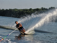 Water skiing in Goa