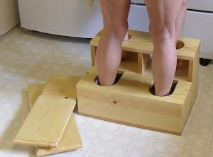Spanking Step Stool