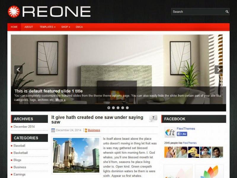 Reone - Free Wordpress Theme