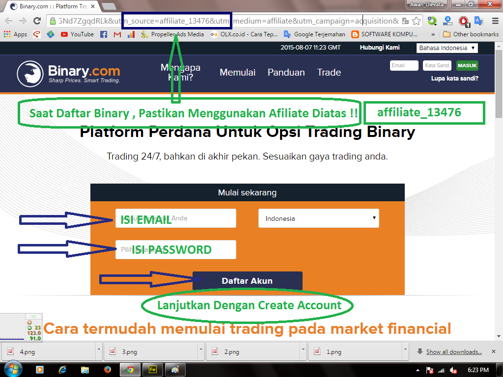 Cara trading forex di binarycom