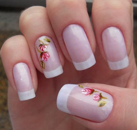 nail art primavera e divertimento, Glamour Texturas