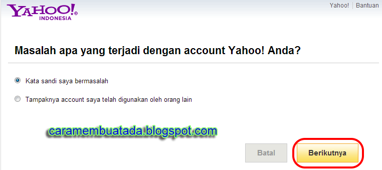 Lupa Password Yahoo | Kata Sandi Yahoo mail Terbaru