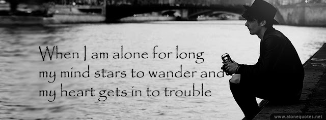black and white fb cover photo-alone boy