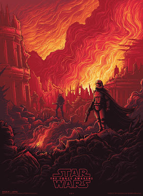 "Star Wars: The Force Awakens ""Captain Phasma"" IMAX Print by Dan Mumford"