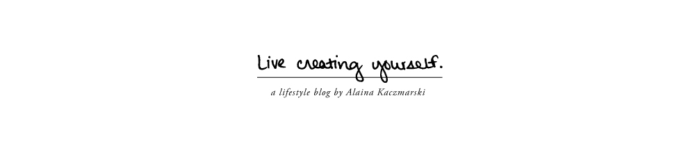 Live Creating Yourself.
