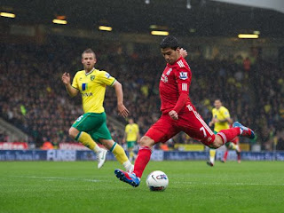 Suarez second goal at Norwich