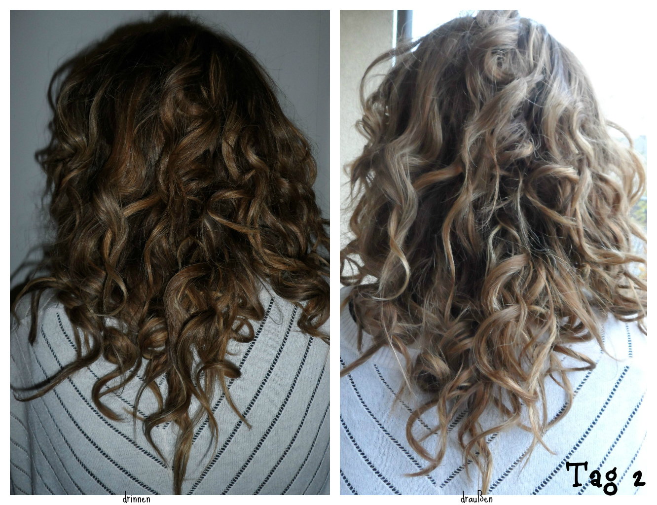 Haarspray locken test