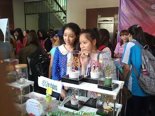 Cây pha lê Cát Tường tham gia hội chợ handmade DIY Crafts Fair