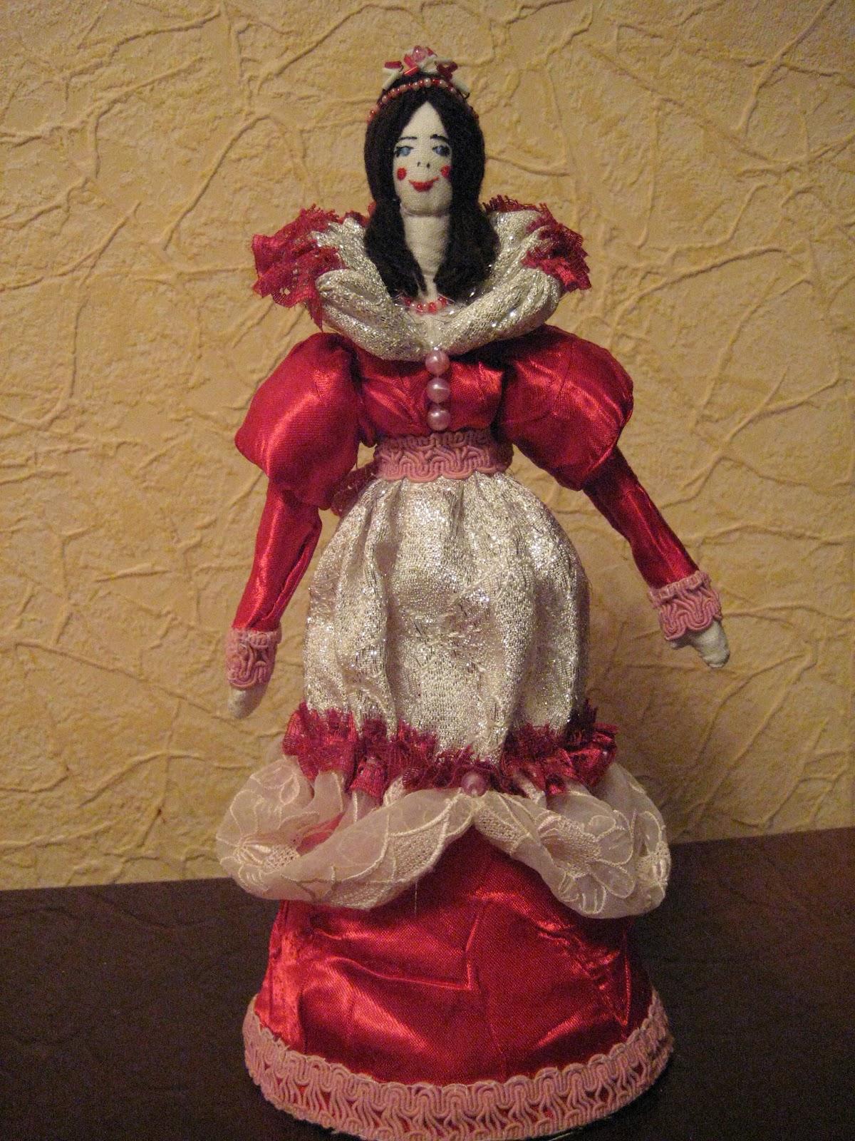 Кукла из материала с своими руками