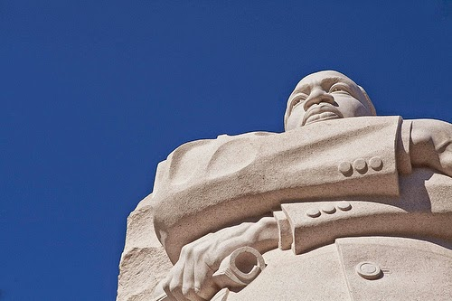 image of MLK statue