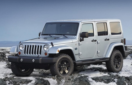 2012 Jeep Wrangler Arctic special edition
