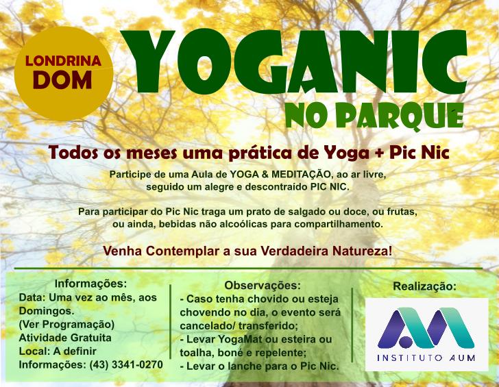YOGANIC NO PARQUE: YOGA + PICNIC