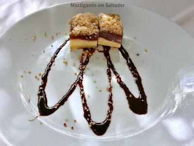 Oui Restaurant: Torta Crocante de Goiaba