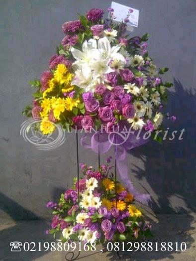 bunga standing flowers duka cita