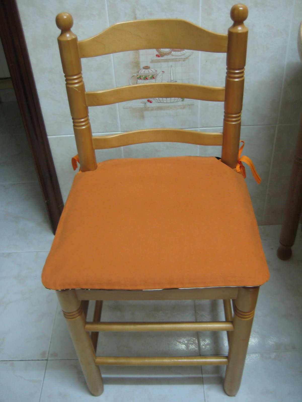 Flores y plantas cojines para la sillas de la cocina - Cojines de sillas ...
