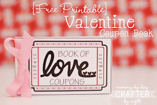 Free Printable Book of Love Coupons