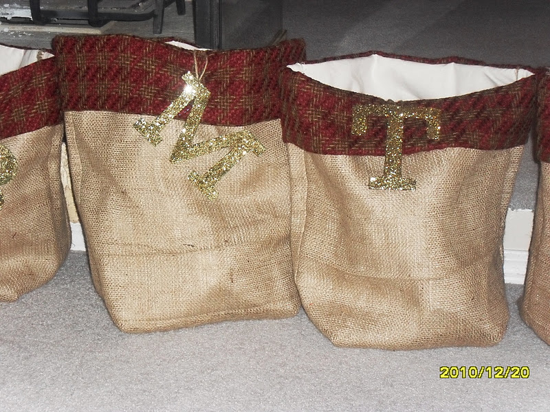 how to clean burlap sacks