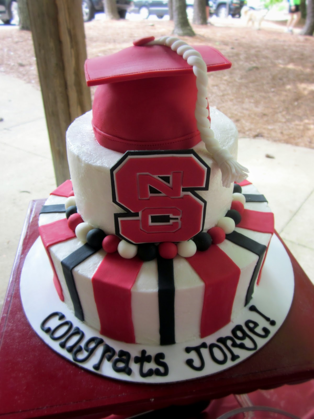 Nc State Birthday Cake