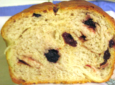 Quick easy fruit cinnamon bread recipe