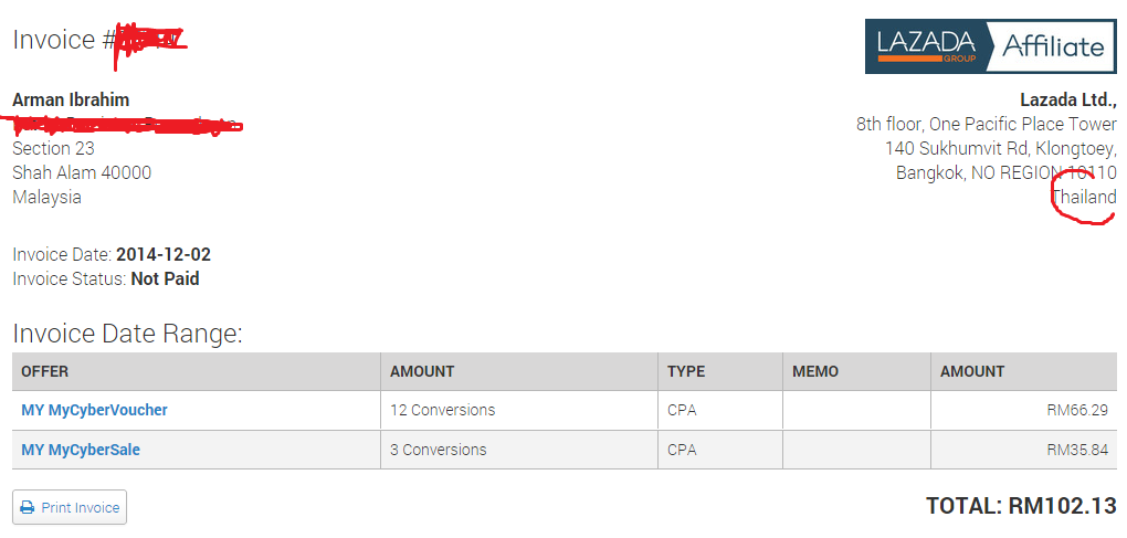 payment pertama lazada 2014