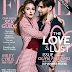 OLIVIA PALERMO AND HUSBAND JOHANNES HUEBL COVER 'FLARE' MAGAZINE 'LOVE AND LUST' ISSUE