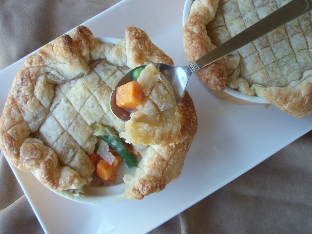 Vegetable Pot Pies Dinner Serves 2 Filling: ... | Animal Place