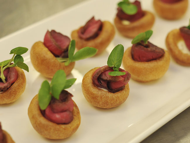 Mini Yorkshire Puddings with