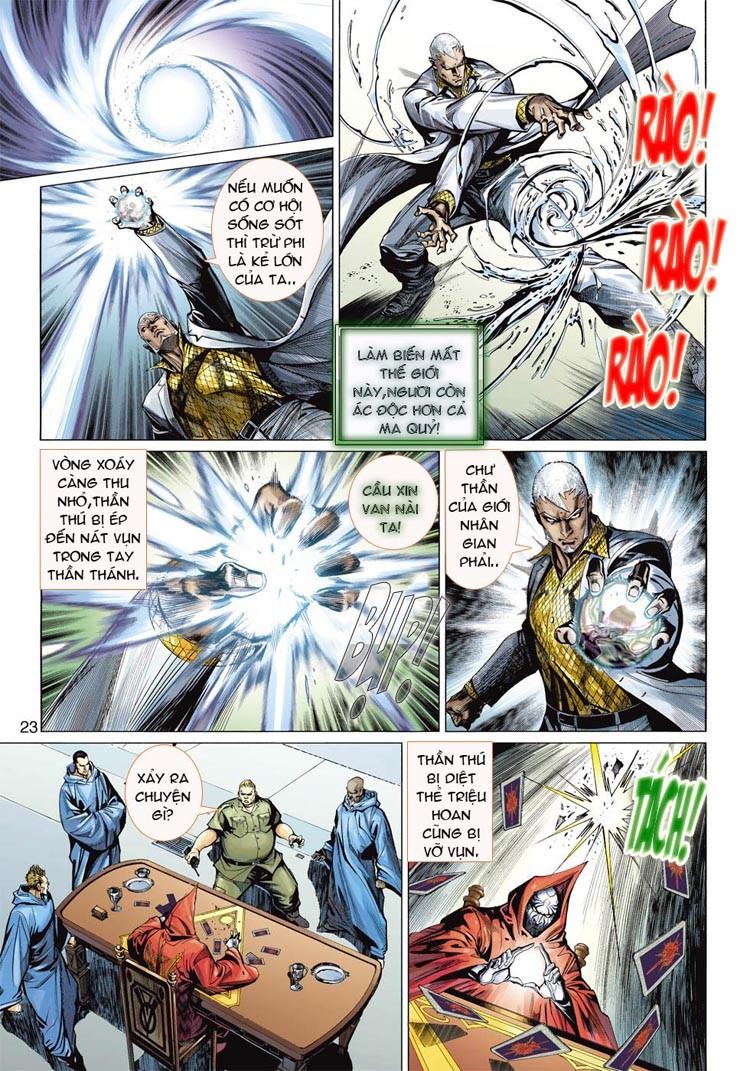 Thần Binh 4 chap 20 - Trang 23