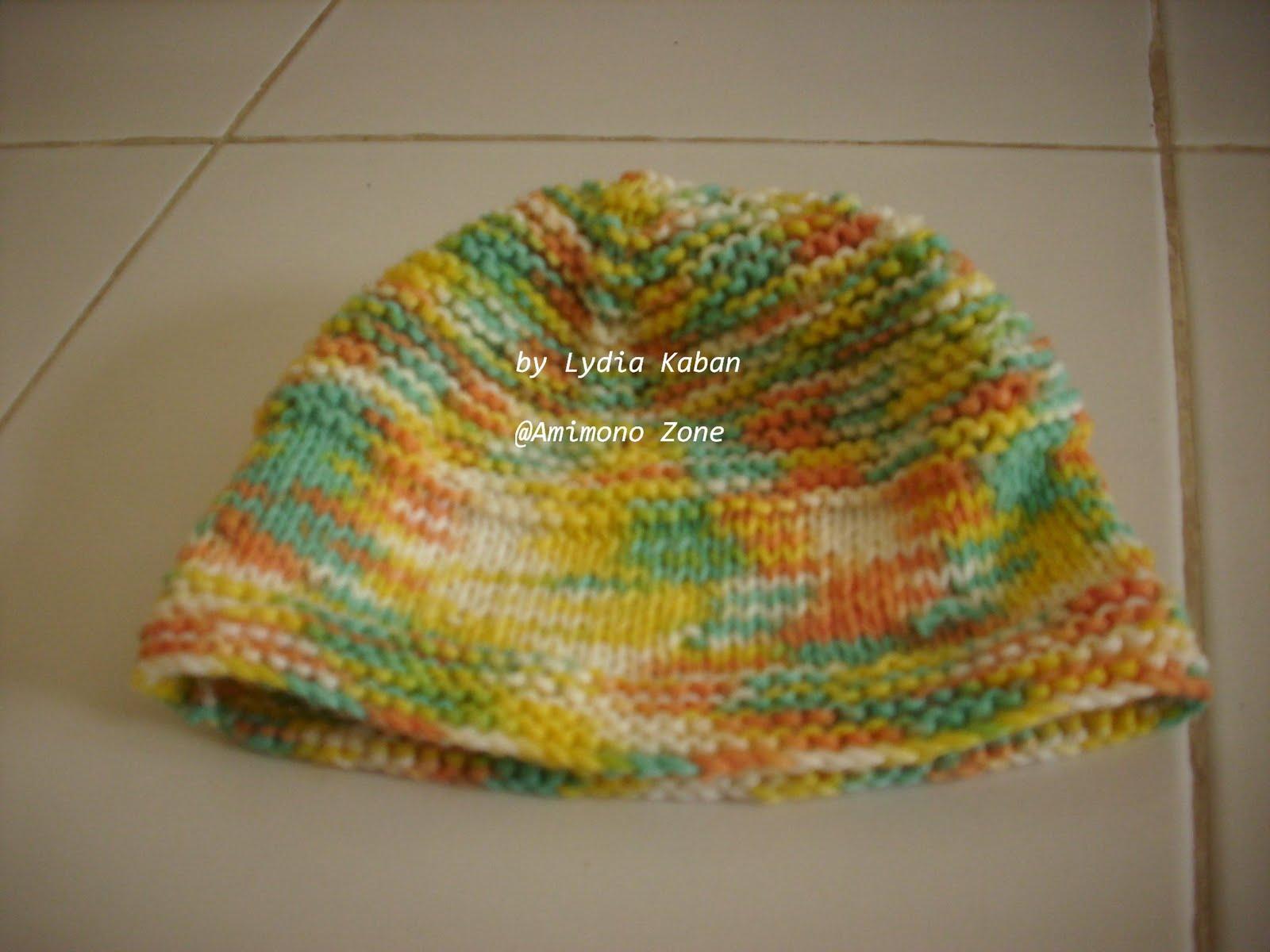 Merajut (Knitting) Dengan Benang: Topi Cantik by Lydia
