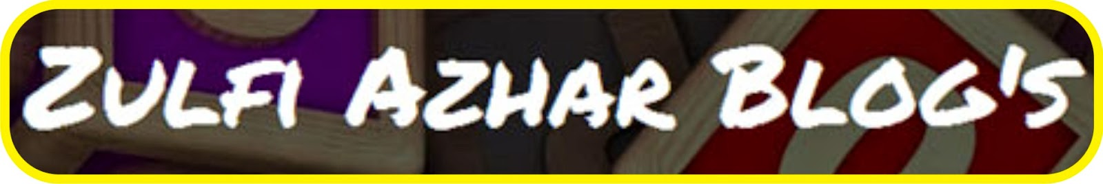 Blog Pak Zulfi (Dosen)
