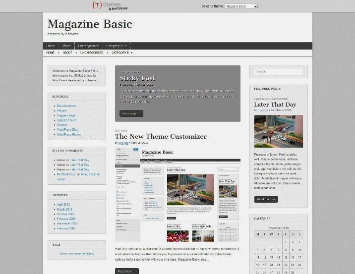 Magazine Basic