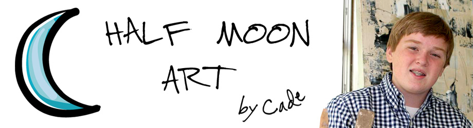 Half Moon Art by Cade