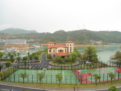 View from hotel in China