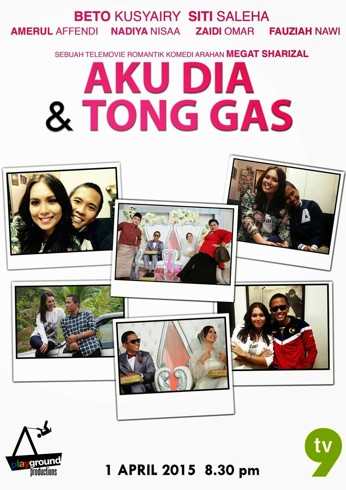 Aku Dia Dan Tong Gas (2015), Full Telemovie, Tonton Drama, Video, Movie, Youtube, Online TV Streaming.