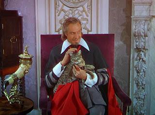 Vincent Price as Richelieu