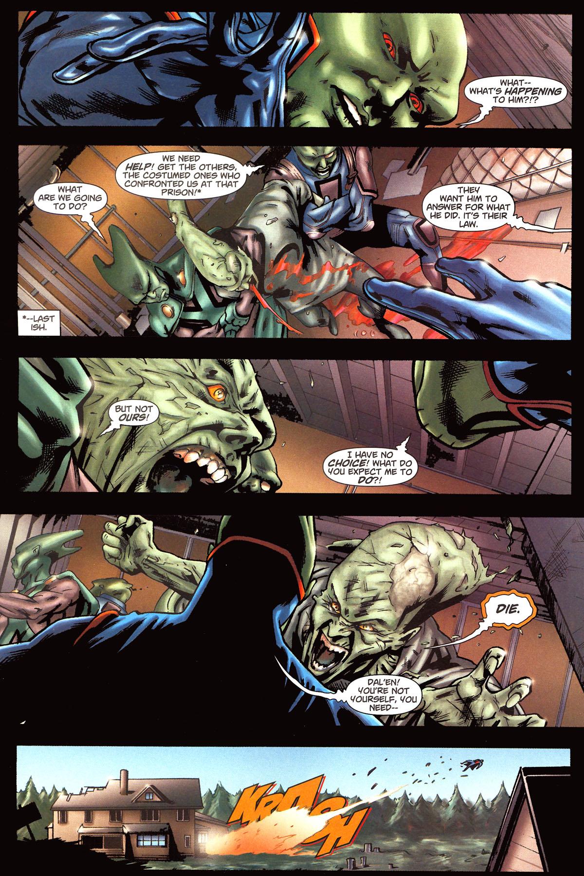 Read online Martian Manhunter (2006) comic -  Issue #6 - 21